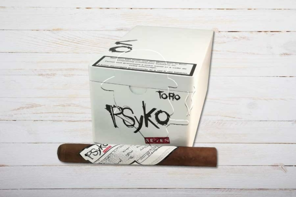 Psyko 7 Natural Toro, Ring 48, Länge: 159 mm, Box 20er