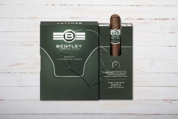 Bentley Robusto, Ring 50, Länge: 127 mm, Box/Etui 5er