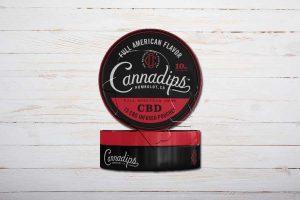 Cannadips Full American Flavor, CBD-Snus