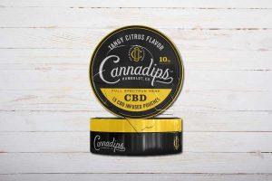 Cannadips Tangy Citrus Flavor, CBD-Snus