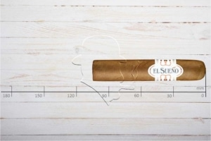 El Sueno Classic Line Claro Treintas, Short Robusto, Ring 50, Länge: 105 mm
