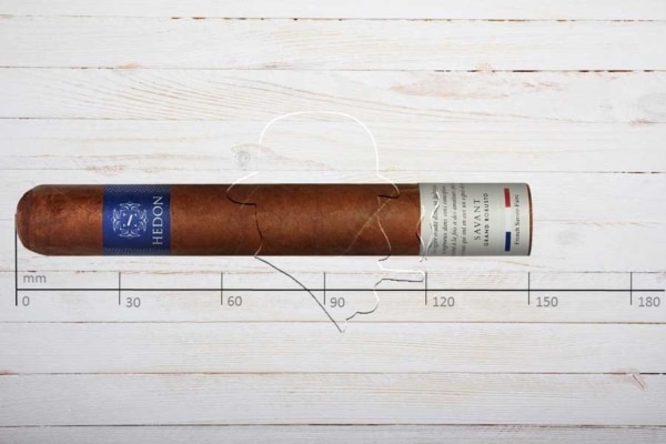Hedon Savant, Grand Robusto, Ring 52, Länge: 150 mm