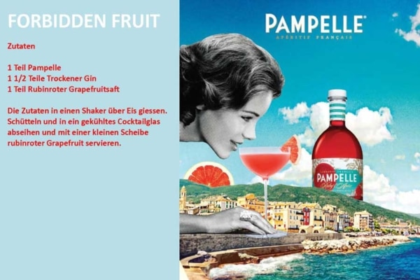 Pampelle Forbidden Fruit Rezept