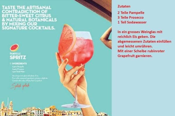 Pampelle Spritz Rezept