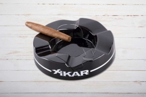 XIKAR Wave Ashtray / Ascher, schwarz