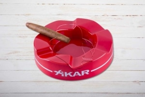 XIKAR Wave Ashtray / Ascher, rot