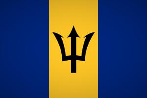 Barbados Fahne Flag