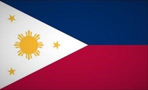 Philippinen Fahne Flag
