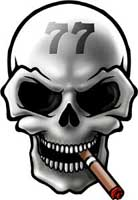 Skull 77 Zigarren Logo