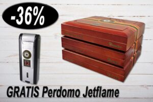 Perdomo Double Aged Vintage Connecticut Salomon, Ring 60, Länge: 156 mm, Gratis Jetflame, Aktion 36% Rabatt, Black Friday Sale