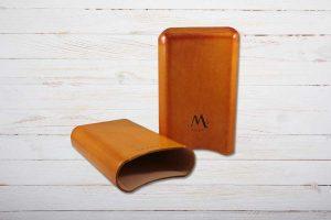 Montes, Zigarren-Etui, 3er, Leder, Amsterdam, Ring 65