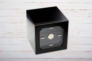 Adorini Chianti Medium Deluxe Humidor, schwarz