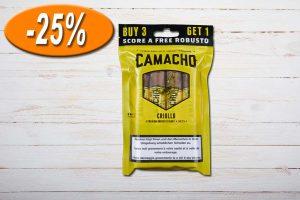 Camacho Freshpack Criollo gelb Robusto