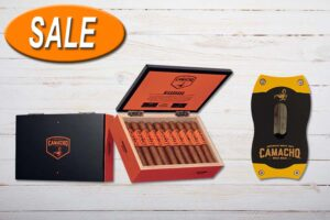 Camacho Nicaragua Robusto V-Cut Package