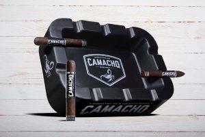 Camacho Big Bold Ashtray, Aschenbecher, Zigarrenascher, schwarz