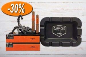 Camacho Nicaragua Big Bold Package, mit Ashtray/Ascher, Aktion