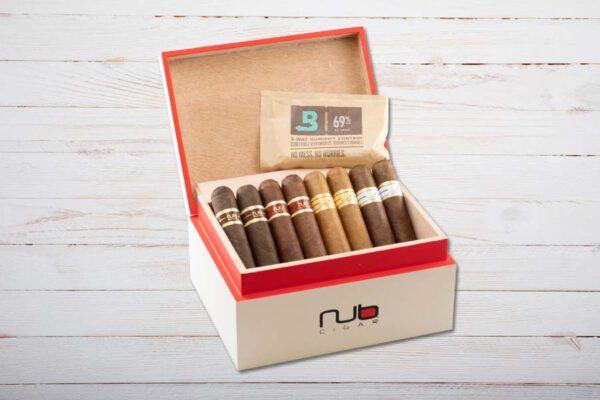 Nub Cigars Humidor, gefüllt