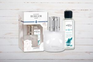 Lampe Berger Paris, Set Aroma Happy, Aquatische Frische, Maison Berger