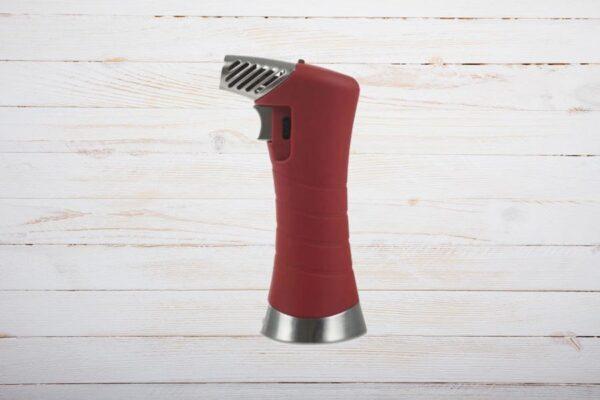 Zino ZXL Tisch Jet Flame Lighter, Zigarrenfeuerzeug, Rot