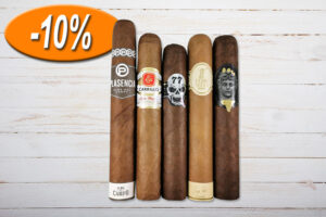 Gentlemans Gordo Sampler, Plasencia, E.P.Carrillo, Skull77, Flor de Selva, Alec and Bradley