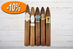 Gentlemans Piramides Sampler, El Sueno, Davidoff, Bentley, Vegas Robaina, My Cigar Lab