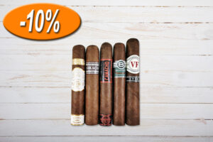 Gentlemans Robusto Sampler, Plasencia, Horacio, Camacho, Bentley, VegaFina