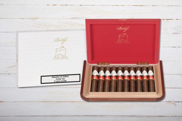 Davidoff Year of the OX Limited Edition 2021, Gordo, Länge 152mm, Ring 60, Dominikanische Republik