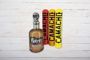 Gentlemans Trio PaCa, Sampler mit Padre Azul Tequila, Camacho Corojo, Connecticut, Criollo, Tubo