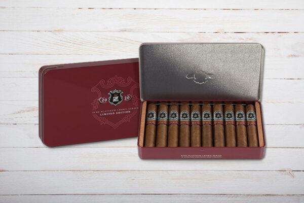 Zino Platinum Crown Series Limited Edition 2020, Gran Robust, 127mm, Ring 60, Box 10er, Dominikanische Republik