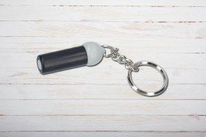 Bohrer, Zigarren Cutter, Kunststoff, 7mm, Schlüsselanhänger
