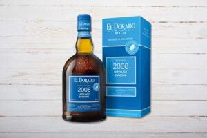 El Dorado Blended in the Barrel (BIB), Uitvlugt/Enmore, Rum, Guyana, 70cl, blau