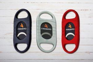 Firebird Nighthawk Zigarrencutter, Anschneider aus Kunststoff bis Ringmass 60, Assortiert
