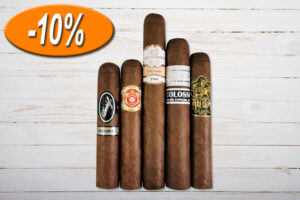 Gentleman's Medium Sampler, Davidoff, Punch, Casa Turrent, Horacio, Gurkha