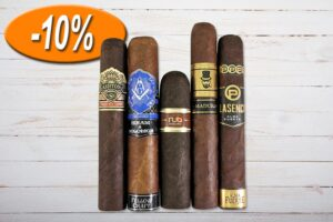 Gentlemans Strong Sampler, Ashton, Hiram and Solomon, Nub, My Cigar Lab, Plasencia