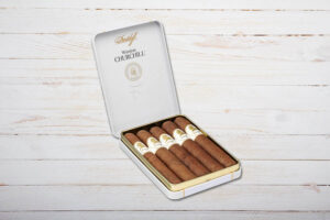 Davidoff Winston Churchill, Petit Panatela, Ring 38, Länge: 102 mm