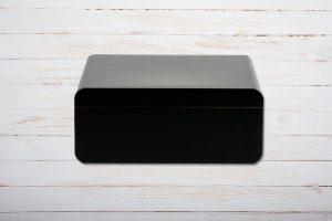 Adorini Carrara Medium Deluxe Black Humidor