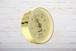 Adorini Haarhygrometer Analog, Gold