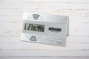 Adorini Digitales Hygrometer und Thermometer für Zigarren-Humidore