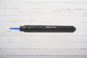 Prince Cordless Pencil Torch, Schwarz, Jetflame, 1-flammig, Zigarrenfeuerzeug, Butangas