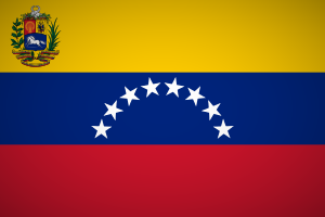 Venezuela Flagge Fahne