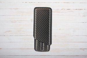 Zigarren Etui Carbon Look von Freeline, Schwarz, 2er bis Ringmass 52