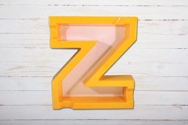 Zino Nicaragua Aschenbecher in Form eines Z, Ablage für 4 Zigarren