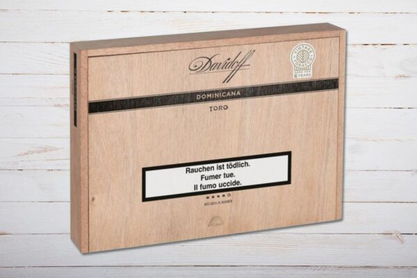 Davidoff Dominicana Toro, Box 10er, Ring 54, Länge: 152mm
