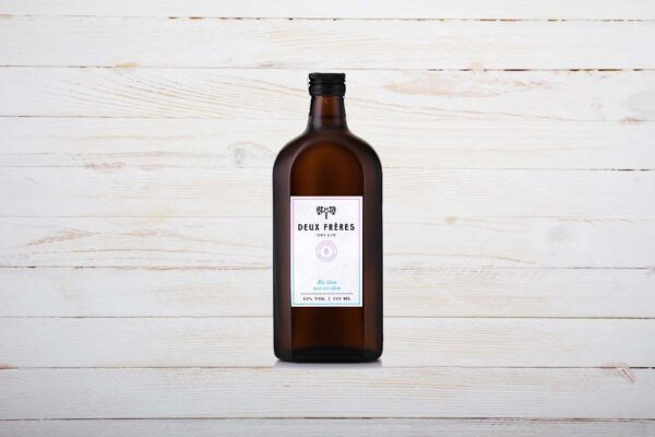Deux Freres Gin, Dry Gin, 50cl