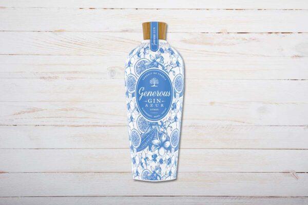 Generous Gin Azur 70cl, Frankreich