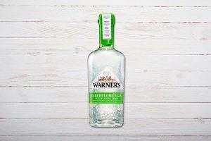 Warner's Elderflower Gin, 70cl, Warner Edwards