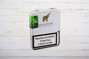De Olifant Modern Mini Brasil Cigarillos, Zigarillo, Ring 21, Länge: 75 mm, Box 7er