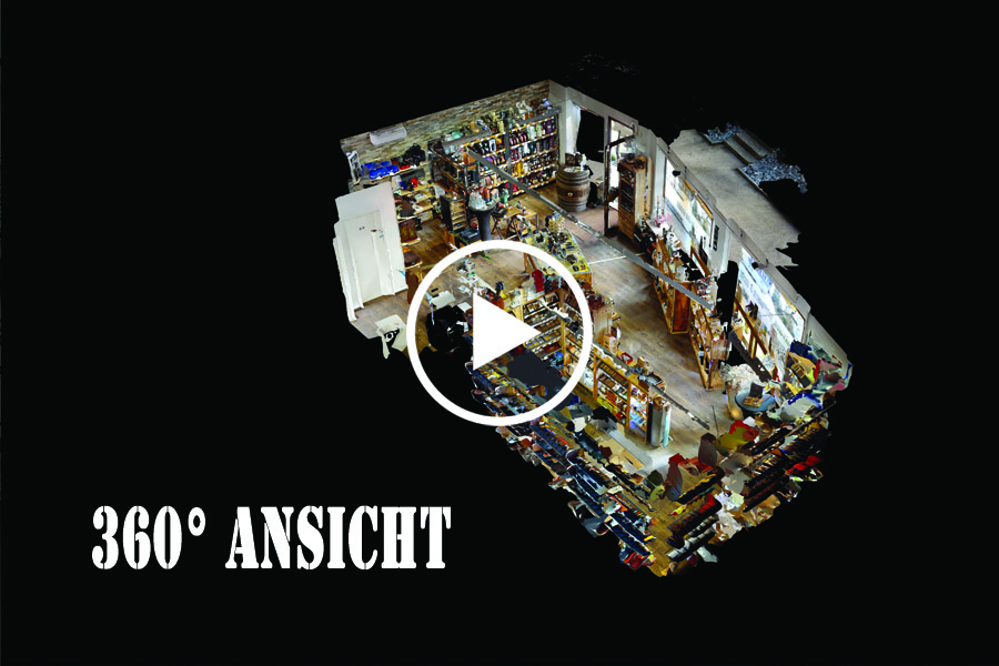 360° Ansicht Zigarren Ladenlokal in Goldach Spirituosen und mehr