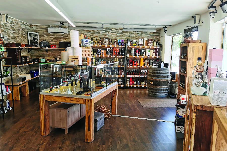 Zigarren Ladenlokal in Goldach Spirituosen und mehr