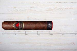 Cumpay Zigarren Maduro Volcan, Double Robusto, Ring 60, Länge: 127 mm